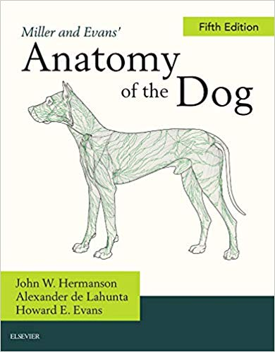 Miller's Anatomy of the Dog, 5th Edition