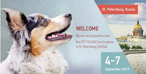 25th European Veterinary Congress FECAVA 2019 | St. Petersburg, 4 - 7 September